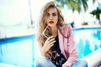 Cara Delevingne w kampanii dla marki Reserved | Lato 2013 - Czytaj, nie pytaj! - Style, trendy, inspiracje, pomys?y, nowo?ci obejmuj?ce takie gatunki jak moda,