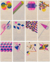 Risograph Calendar Giveaway - BOOOOOOOM! - CREATE * INSPIRE * COMMUNITY * ART * DESIGN * MUSIC * FILM * PHOTO * PROJECTS