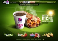 Taco Bell Site Redesign - Killahgrafikz™ | Art Direction & Design