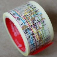 Manhattan Subway Map Tape | Fancy Crave