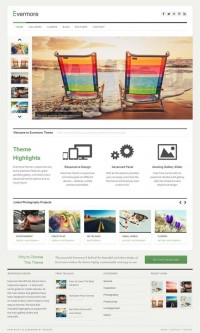 Evermore, Premium WordPress Responsive Portfolio Theme | WP Download