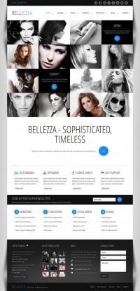Bellezza, Premium WordPres Creative Business Theme | WP Download