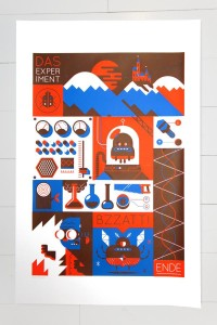Screenprint See-a-Sound | Awesome Design Inspiration