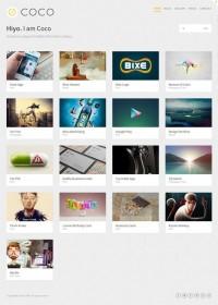 Coco, Premium WordPress Masonry Portfolio Theme | WP Download
