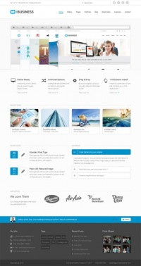 iBUSINESS, WordPress Premium Professional Business Theme | WP Download