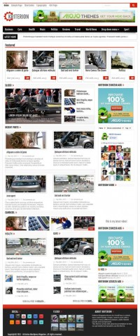 Kriterion, Premium WordPress Magazine Theme | WP Download