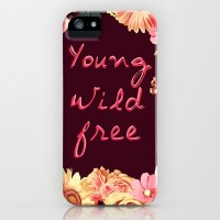 Young, Wild, Free iPhone Case by Nika | Society6