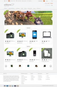 eStore, Premium OpenCart Minimalist Shopping Store Theme | Premium Download