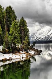 A1 Pictures: Jackson Lake - Jackson Hole, Wyoming