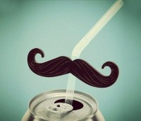 Mustache Straws | Fancy Crave