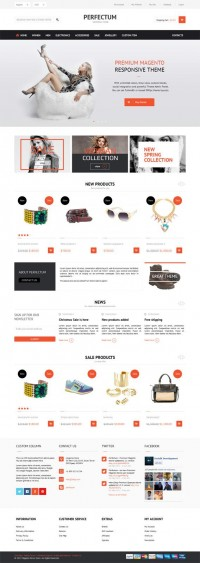 Perfectum, Premium Magento Responsive Fashion Store Theme | Premium Download