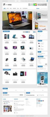 MT Hyrad, Premium Magento Technology Store Theme | Premium Download