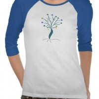 Lone tree Illustration from Zazzle.com
