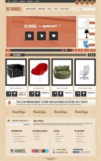 Handel, OpenCart Premium Home Furniture Store Theme | Premium Download