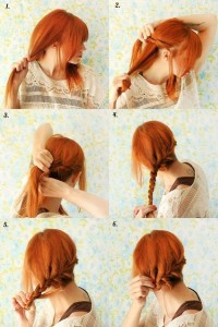 DIY Reverse Crown Braid Hairstyle DIY Projects | UsefulDIY.com