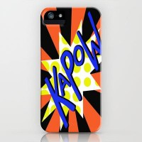 KaPoW! iPhone Case by Veronica Ventress | Society6