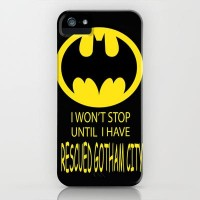 Gotham City iPhone Case by Veronica Ventress | Society6