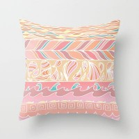 Down by the Seashore Throw Pillow by Catherine Holcombe | Society6