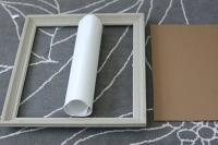 DIY: Framed Whiteboard | Say Yes to Hoboken