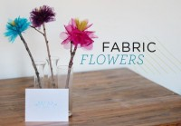 DIY: Fabric Flowers | Say Yes to Hoboken