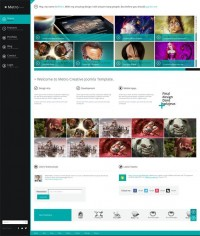 Metro Creative, Joomla Metro Style Creative Template | Premium Download