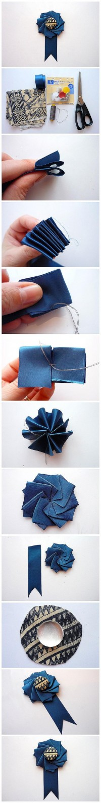 DIY Flower Hair Accessory DIY Projects | UsefulDIY.com