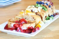 Rainbow Stuffed French Toast - Dreamers Into Doers -- marthastewart.com