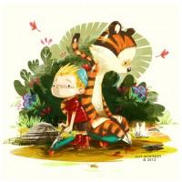Draw Calvin & Hobbes. - www.guymckinley.com