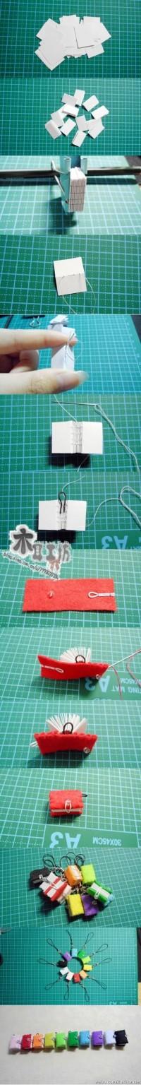 DIY Little Book Ornament DIY Projects | UsefulDIY.com