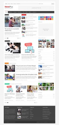 NewsPlus, WordPress Magazine Editorial Theme | WP Download
