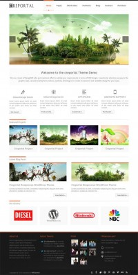 Creportal, Premium WordPress Responsive Creative Theme | WP Download