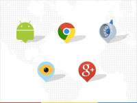 Google SXSW pins by Haraldur Thorleifsson