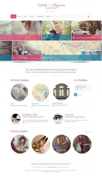 Weda, WordPress Fashion Wedding Photography Theme | WP Download