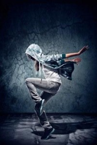 Urban Hip Hop Dancer With Grunge Concrete Wall Background Texture.. Royalty Free Stock Photo, Pictures, Images And Stock Photography. Image 16437027.