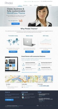 Pindol, WordPress Clean Creative Minimalistic Theme | WP Download