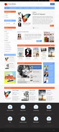 JM-Free-Ebooks, Joomla Electronics PDF Download Template | Premium Download