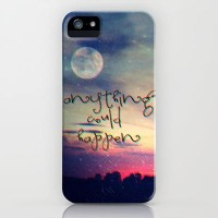 Anything could happen iPhone Case by M?nika Strigel | Society6
