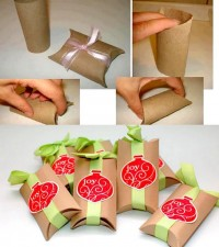 DIY Simple Toilet Paper Rolls Gift Box DIY Projects | UsefulDIY.com
