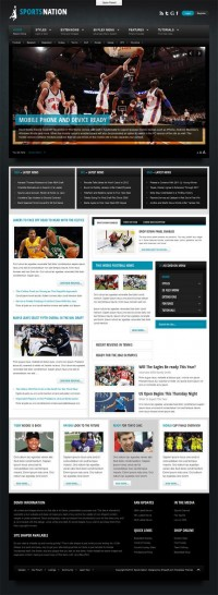 Sports Nation, WordPress Premium Sport Portal Theme | WP Download