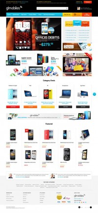 GLMobiles, Premium OpenCart Responsive Theme | Premium Download