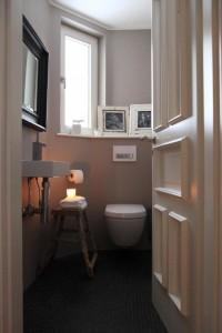 Gäste-WC im ganzen