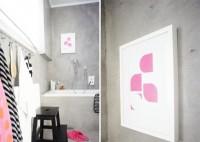 Neuer Print im Badezimmer