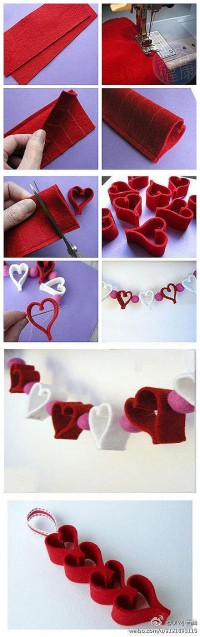 DIY Heart Mobile DIY Projects | UsefulDIY.com