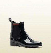 Gucci - 'storm' flat boot with signature web detail. 270108J87J01066