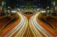 Tokyo at night by Shinichi Higashi | 1 Design Per Day