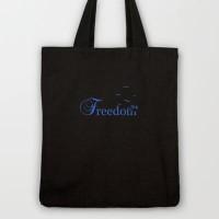 Freedom Tote Bag by Viviana González | Society6