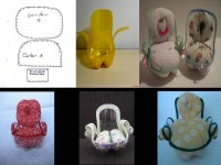 DIY Cute Plastic Bottle Chair DIY Projects | UsefulDIY.com