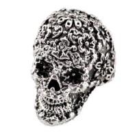 Skull Shape Retro Fashion Shield Rings - DualShine