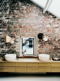 Warm Industrial | Apartment Therapy