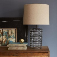 Linear Blown Glass Table Lamp | west elm